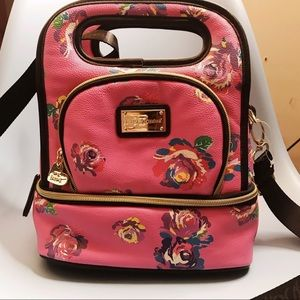 Betsey Johnson Floral Lunch Bag